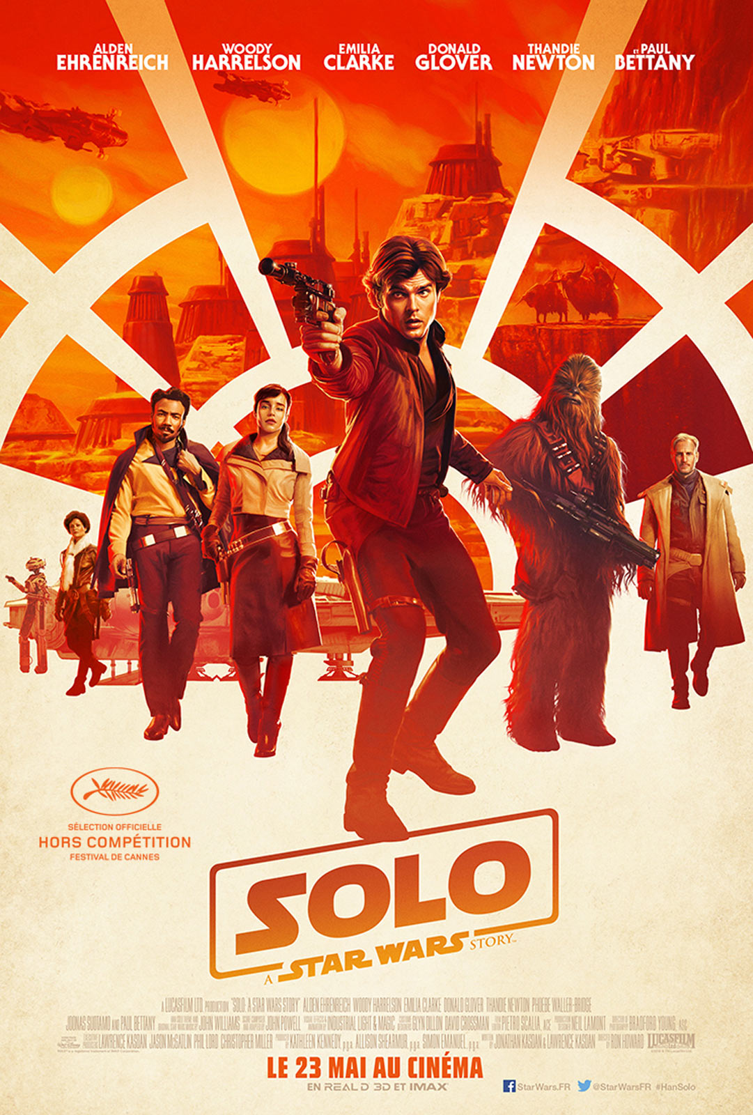 Affiche du film Solo : A Star Wars Story de Ron Howard