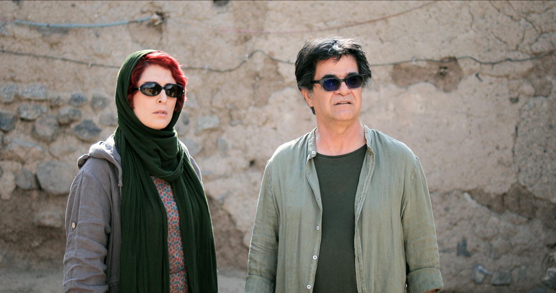 Jafar Panahi et Behnaz Jafari dans le film Trois visages critique cannes 2018