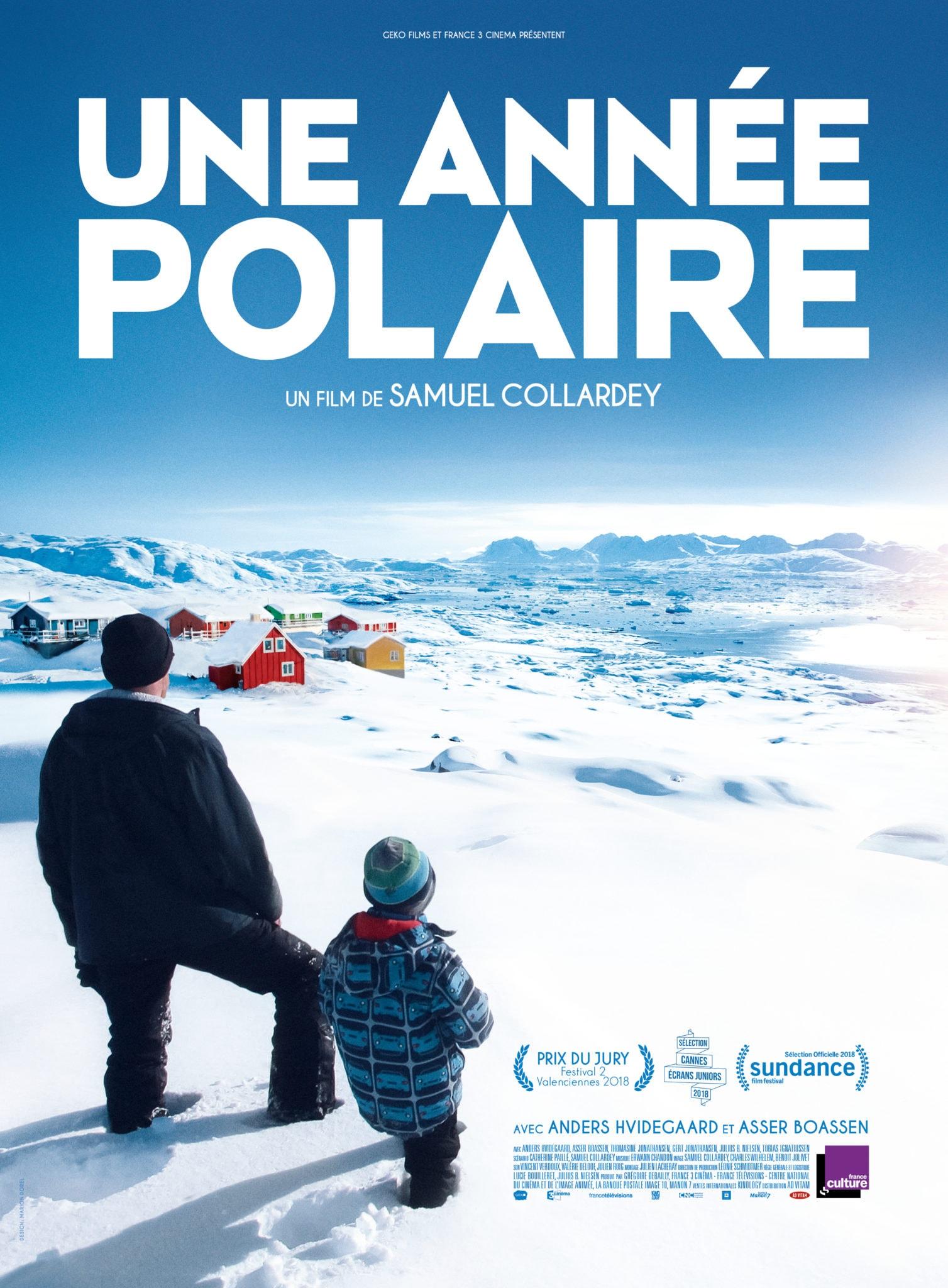 Affiche du film Une année polaire de Samuel Collardey