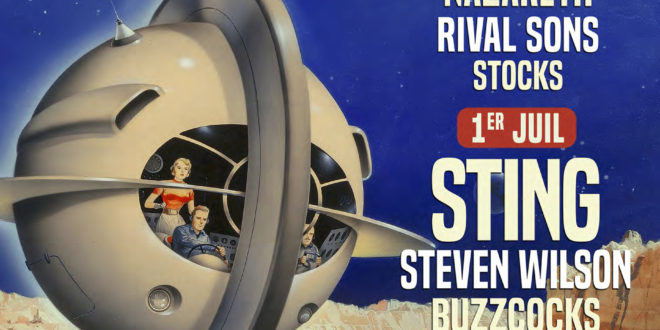 Affiche Rétro c Trop 2018 avec Sting Supertramp programme news musique actu