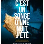 C'est un songe d'une nuit d'été par Christophe Botti affiche Théâtre Clavel
