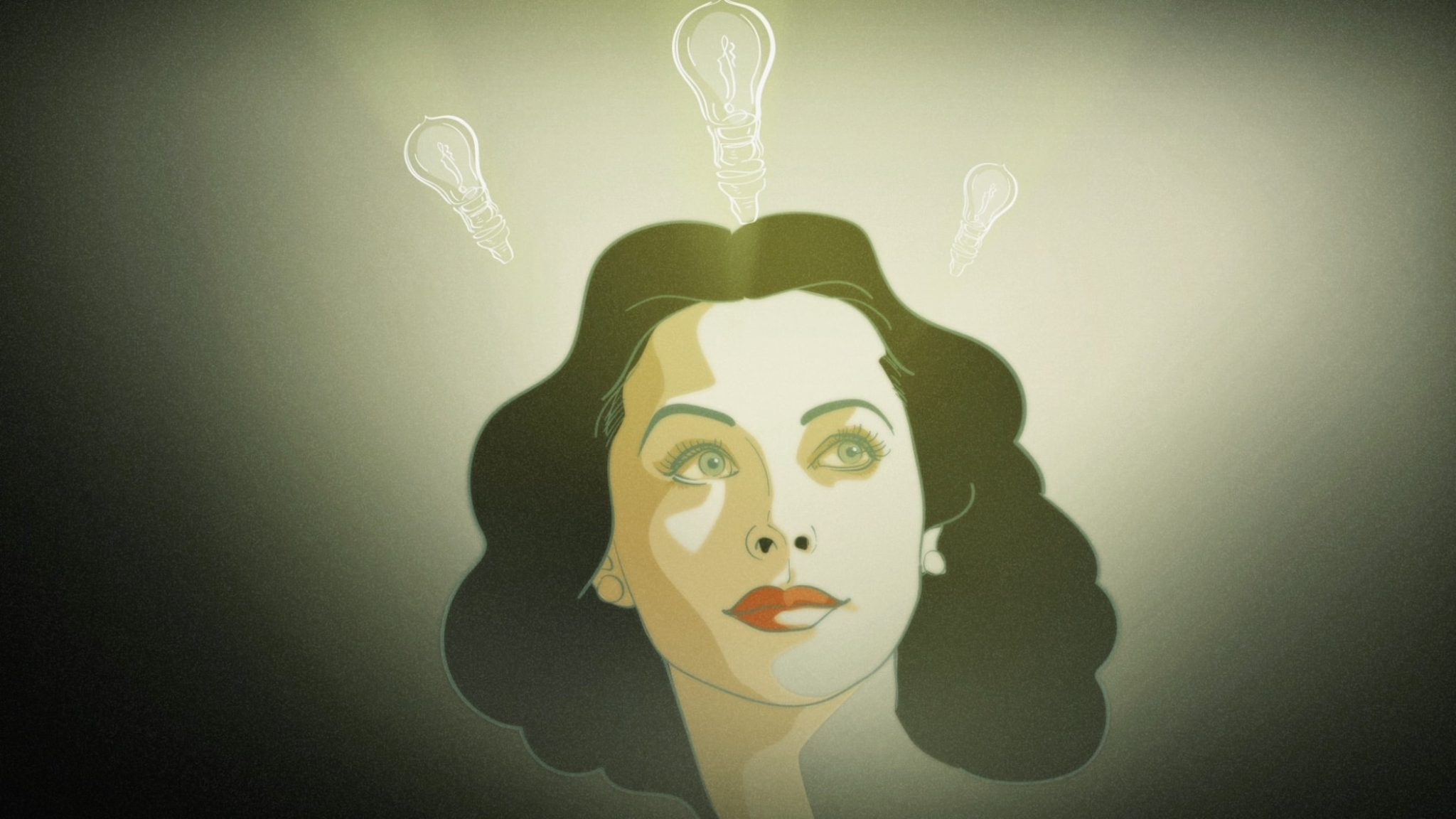 Hedy Lamarr from extase to wifi d'Alexandra Dean image hedy lamarr lightbulb