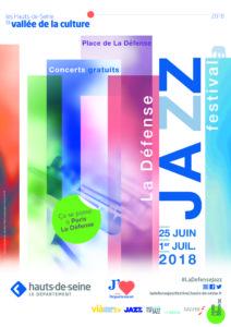 La Défense Jazz festival 2018 affiche