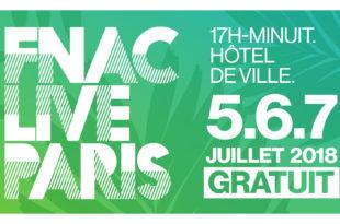 Fnac Live Festival 2018 affiche