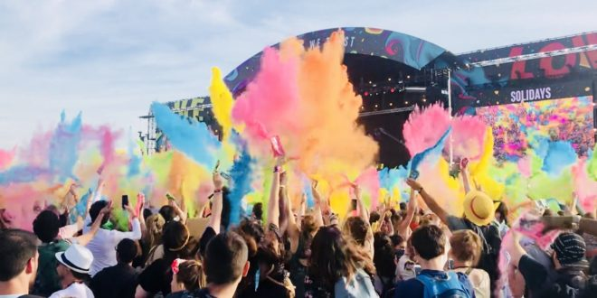 Solidays 2018 Jour 3 photo color party