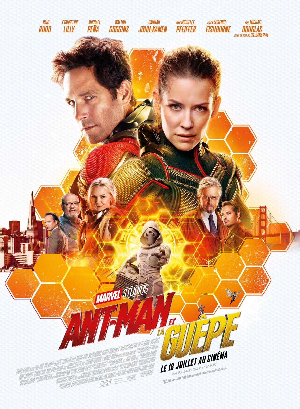 """Critique / """"Ant-Man et la Guêpe"""" (2018) : humour en grand 1 image"""