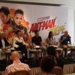 """""""Ant-Man et la guêpe"""", l'avant-première européenne avec l'équipe du film"""