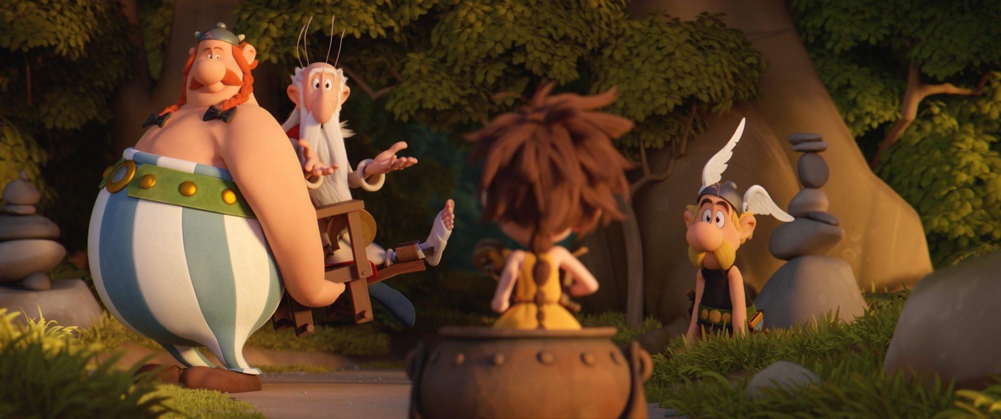 ASTERIX - LE SECRET DE LA POTION MAGIQUE d'Alexandre Astier et Louis Clichy image film