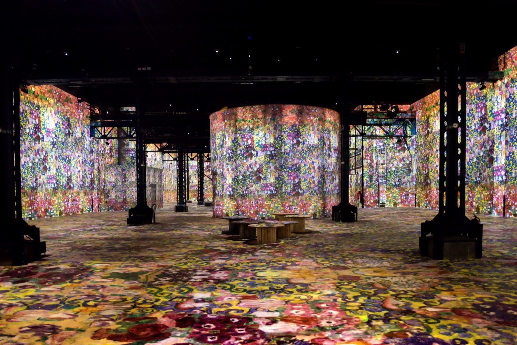 Exposition Gustav Klimt à l'Atelier des Lumières photo