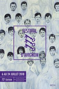 Festival d'Avignon 2018 affiche