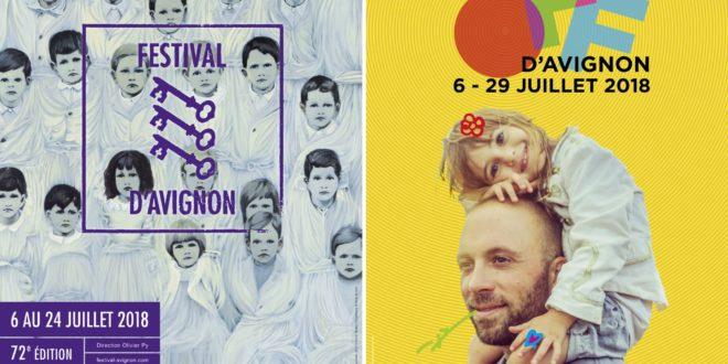 Festival d'Avignon IN & OFF 2018 affiches