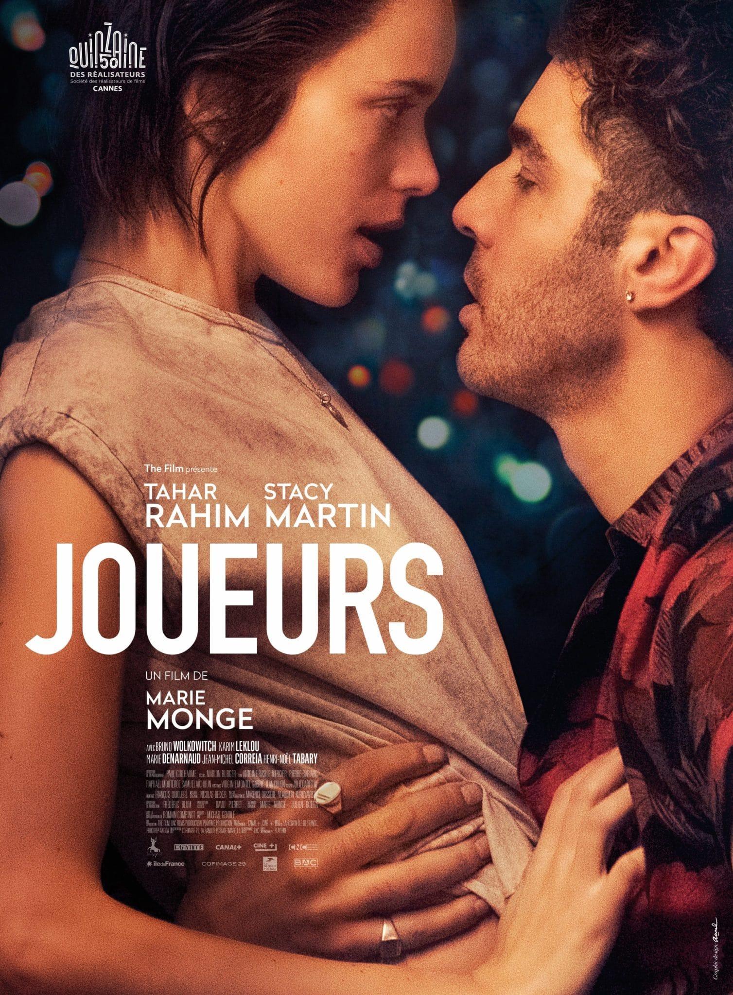 JOUEURS de Marie Monge affiche