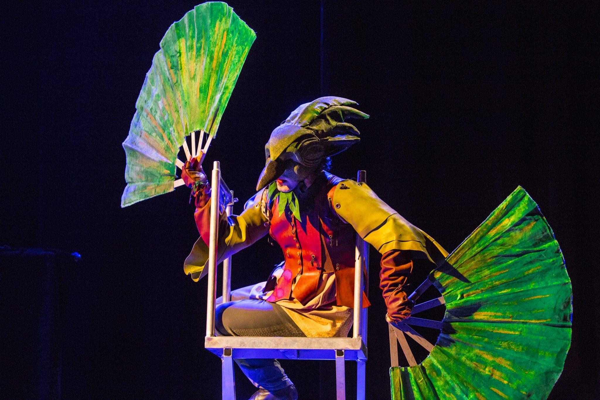 L'oiseau vert de Compagnie des Asphodèles photo 3
