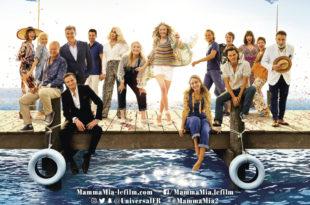 L'affiche du film Mamma Mia ! Here We Go Again critique et avis cinéma
