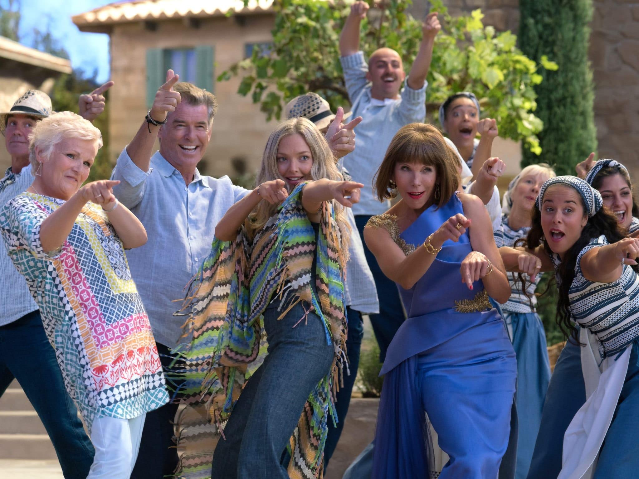 Mamma Mia ! Here we go again avris et critique du film Angel Eye chanté par Amanda Seyfried, Christine Baranski et Julie Walters