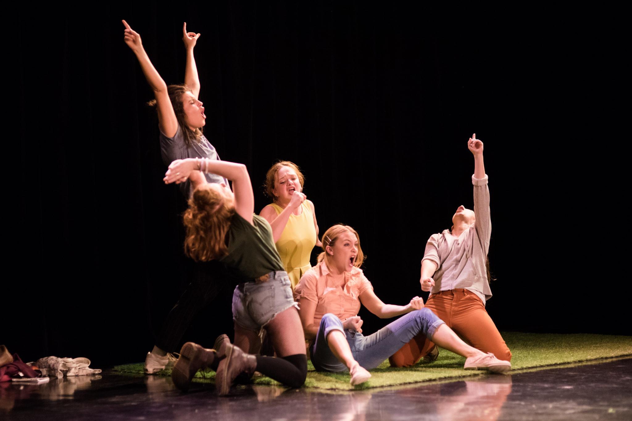 Mon Olympe pièce de théâtre présentée à Avignon Le OFF 18