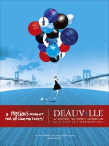 Festival du Cinéma Américain de Deauville 2018 affiche