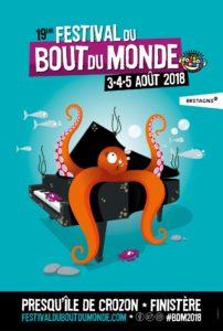 Festival du Bout du Monde 2018 affiche