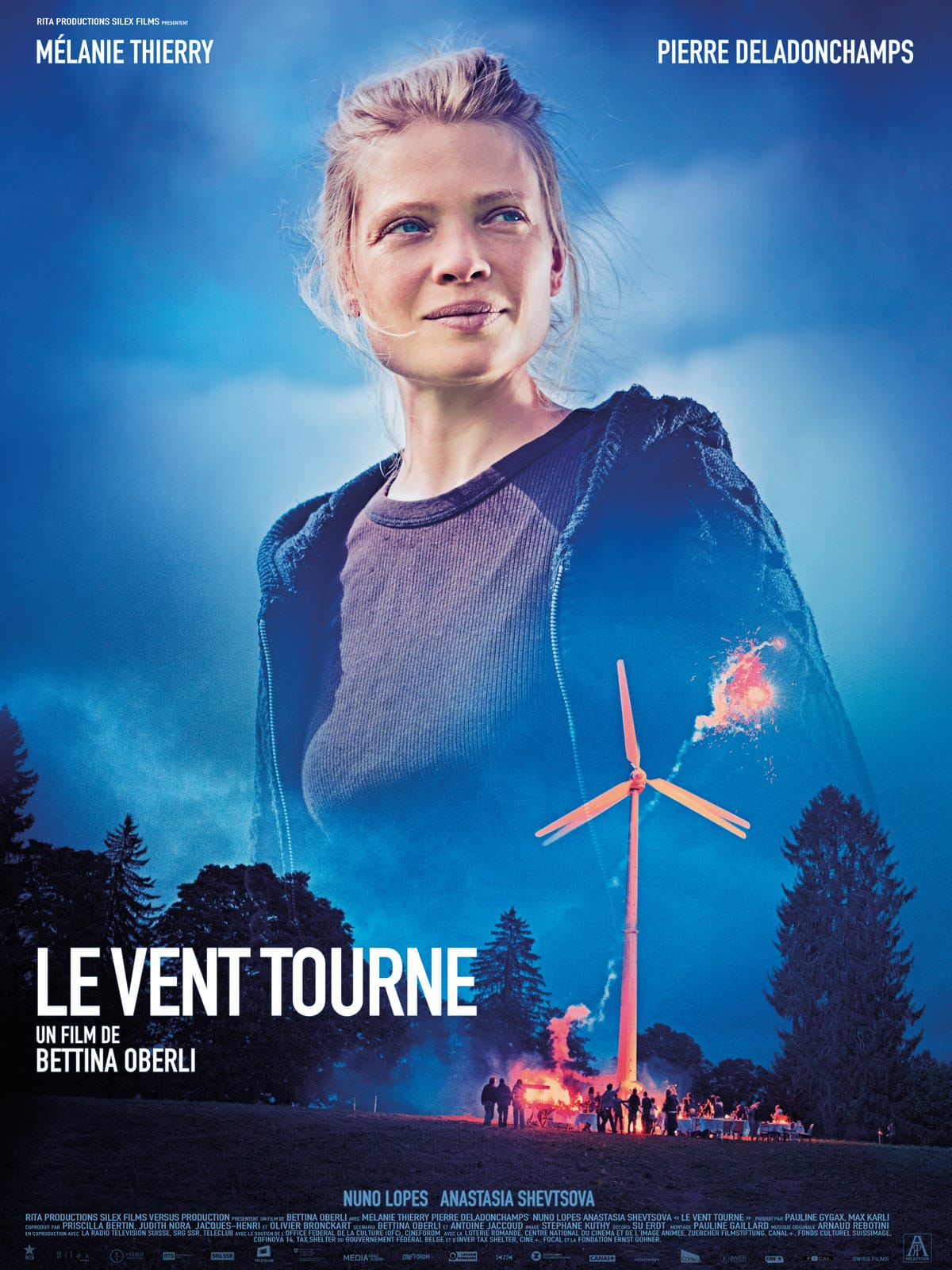Le vent tourne de Bettina Oberli affiche film