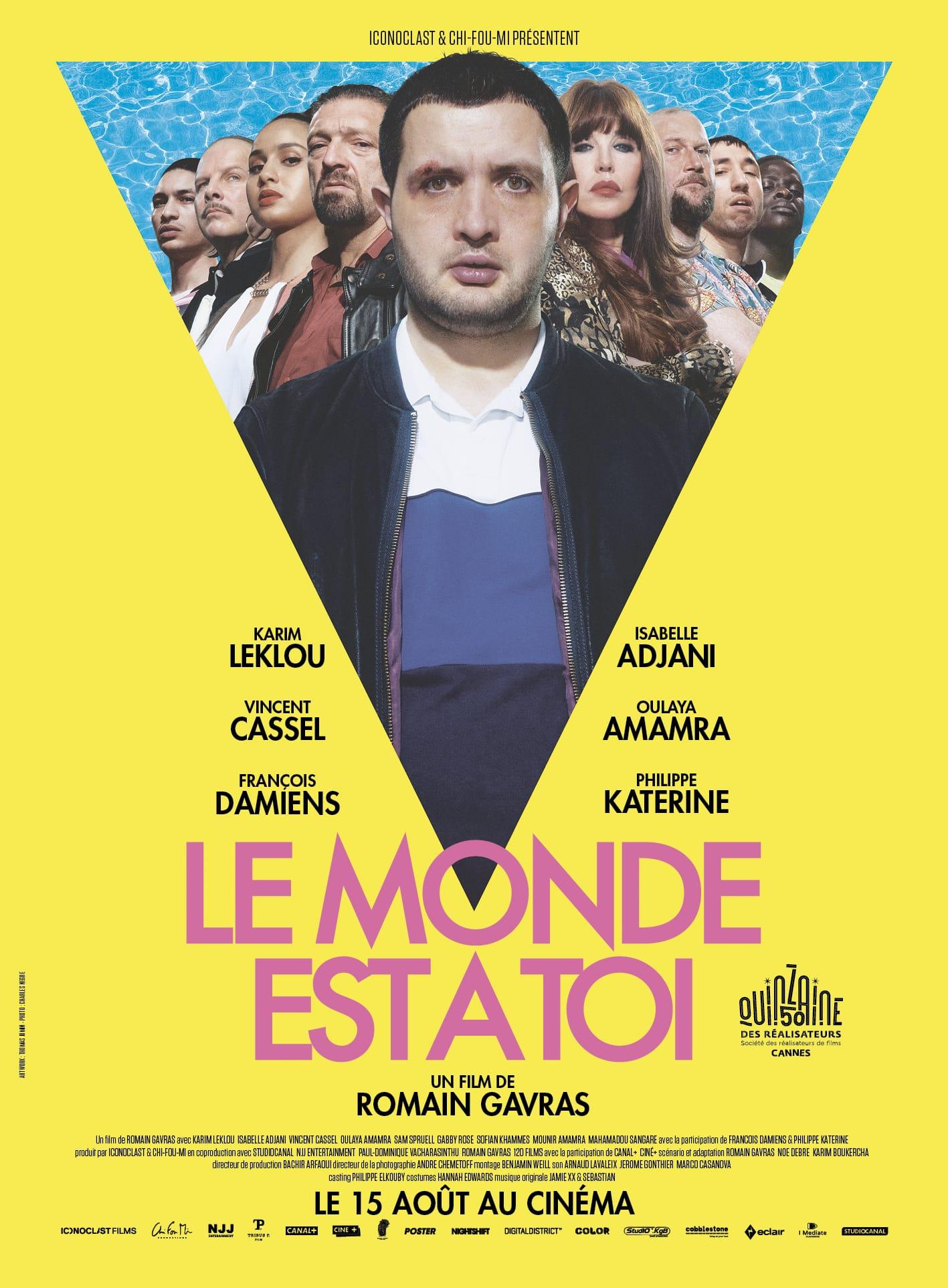 LE_MONDE EST A TOI de Romain Gravas AFFICHE