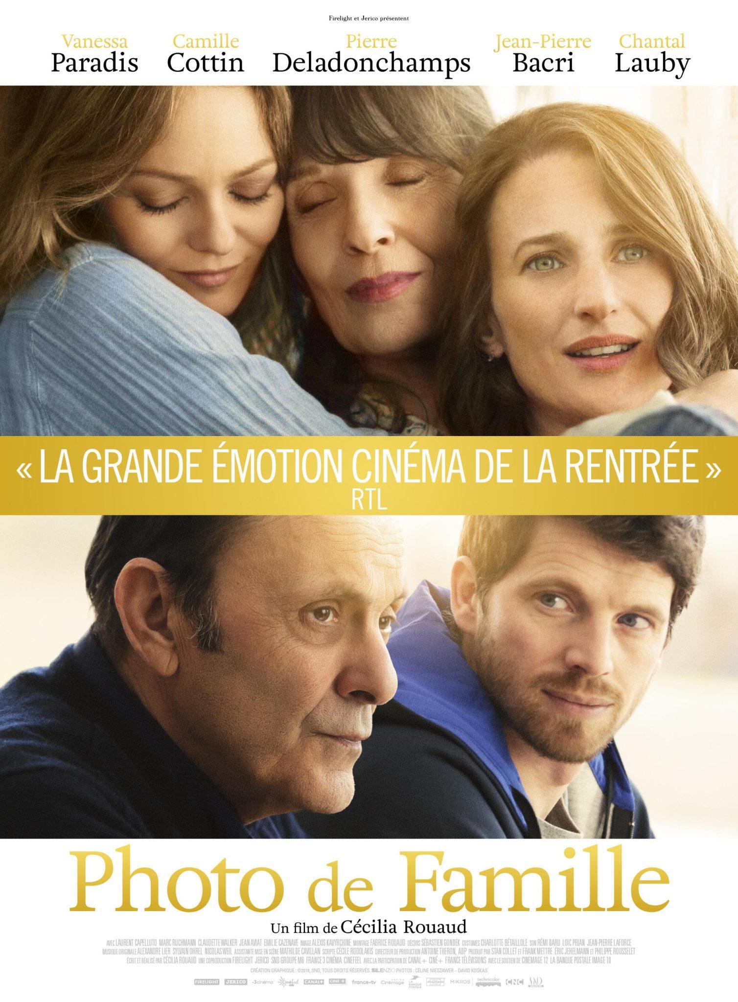 L'affiche du film Photo de famille de Cécilia Rouaud
