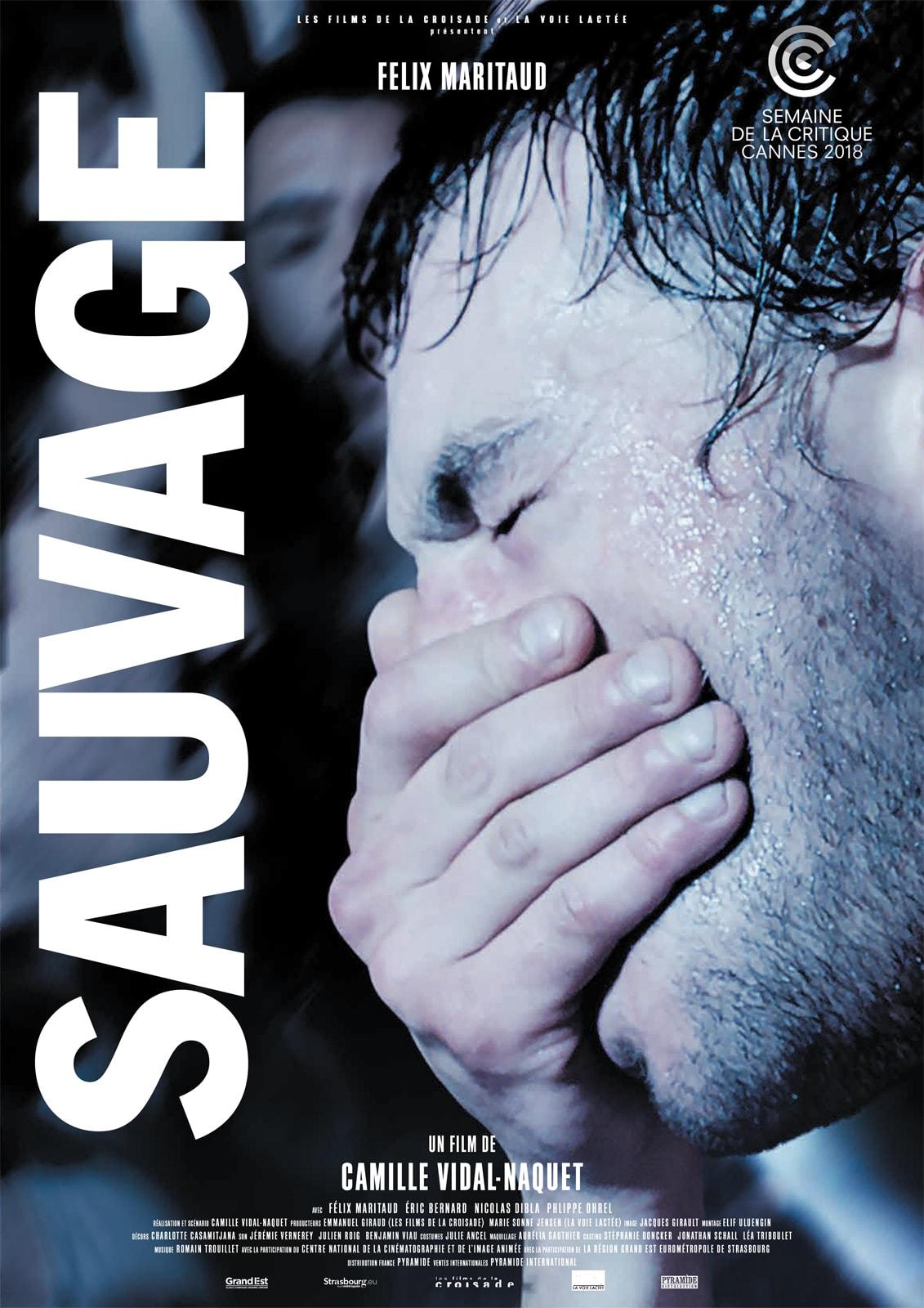 Sauvage affiche film critique avis camille vidal-naquet