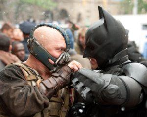 Bane Tom Hardy Christian Bale Batman The Dark Knight Rises