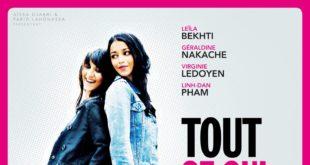 Affiche du film Tout ce qui brille diffusé sur M6 le 13 août 2018 avec Leïla Bekhti et Géraldine Nakache
