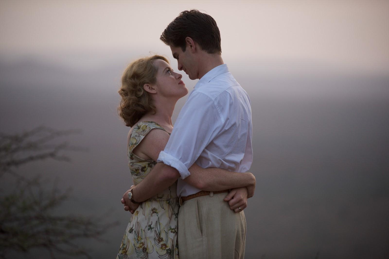 Claire Foy et Andrew Garfield dans Breathe d'Andy Serkis au Dinard Film Festival 2018