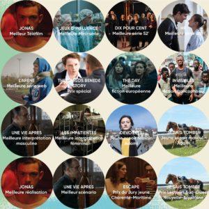Festival de la Fiction TV de La Rochelle 2018 image palmarès