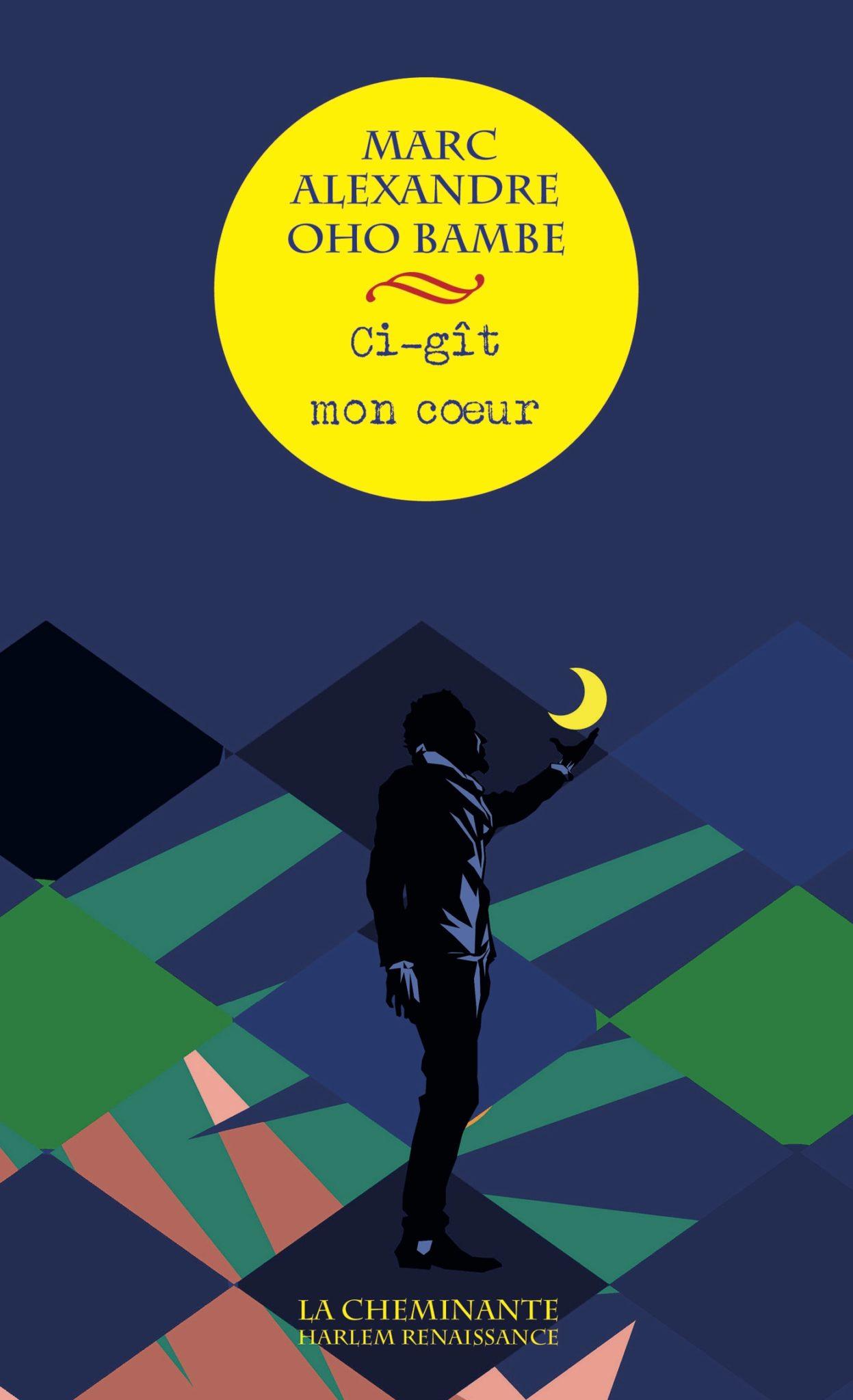 Ci-gît mon cœur de Marc Alexandre Oho Bambe image couverture livre poésie