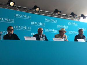 Jacques Audiard équipe film Les Frères sisters Deauville 2018