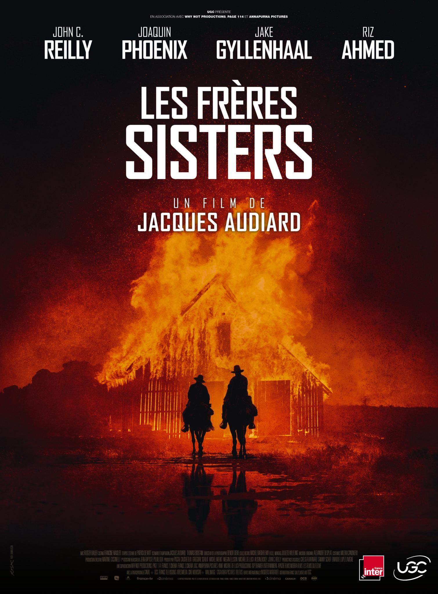Affiche du film Les Frères Sisters de Jacques Audiard