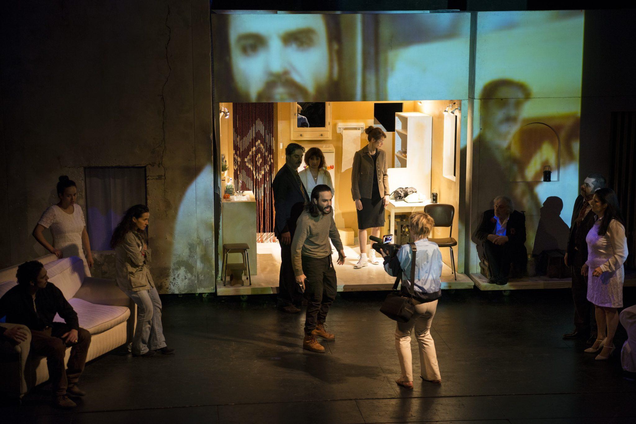 Le Dernier Jour du jeûne et L'Envol des cigognes de Simon Abkarian photo dyptique théâtre 1