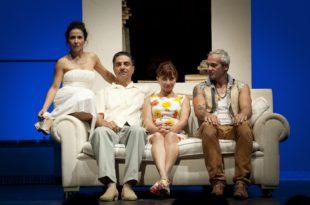 Le Dernier Jour du jeûne et L'Envol des cigognes de Simon Abkarian photo dyptique théâtre 3