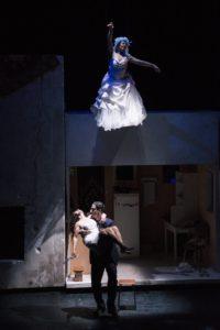 Le Dernier Jour du jeûne et L'Envol des cigognes de Simon Abkarian photo dyptique théâtre 4