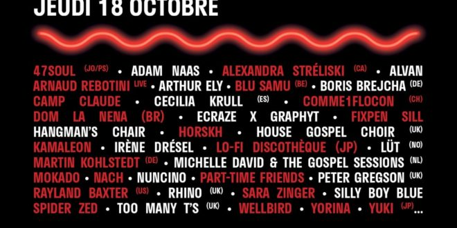 MaMa Festival 2018 programme complet
