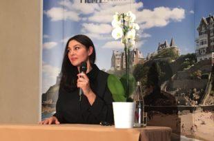 Monica Bellucci Dinard Film Festival 2018 interview rencontre