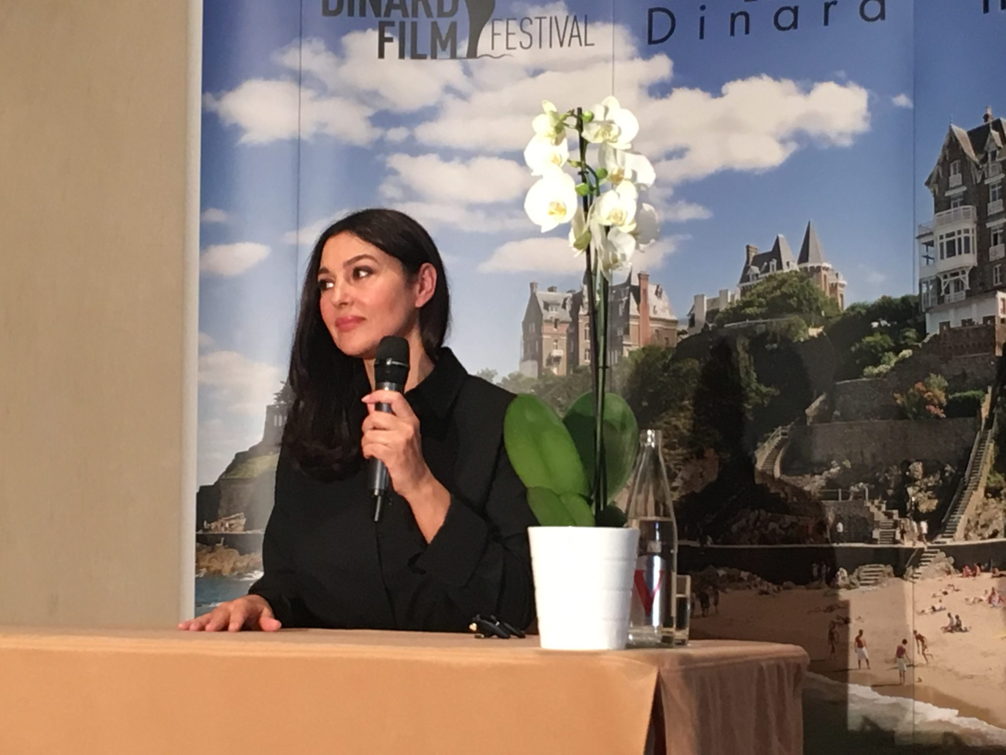 Monica Bellucci Dinard Film Festival 2018 interview rencontre