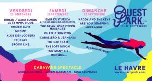 Ouest Park Festival 2018 affiche