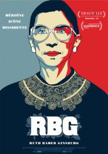 RBG affiche film Deauville 2018