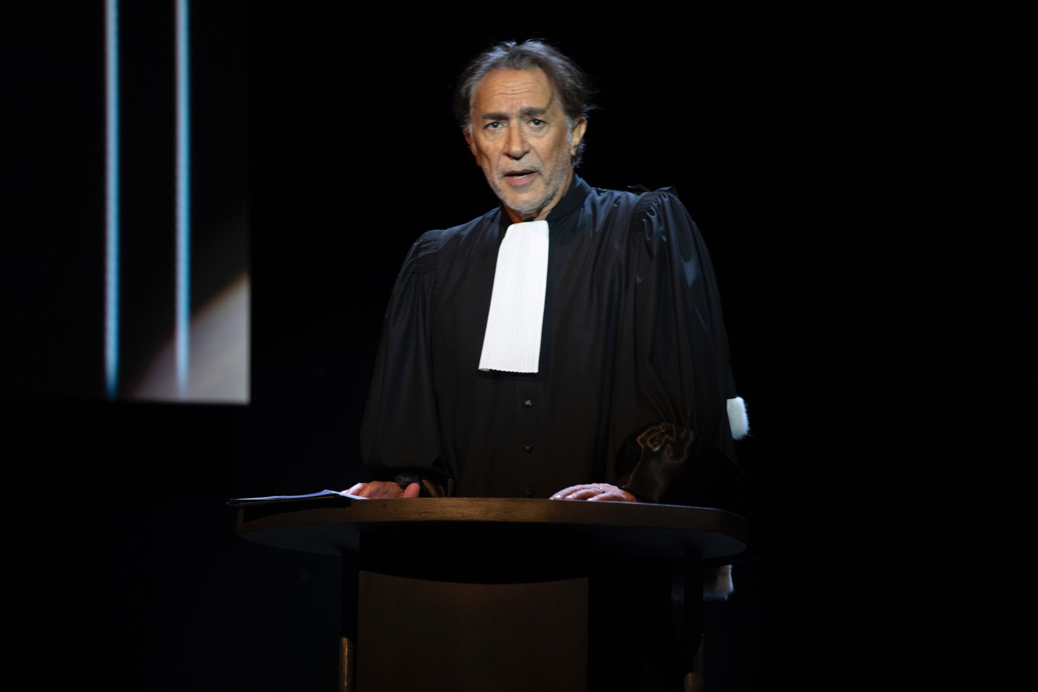 Richard Berry plaidoiries théâtre critique avis