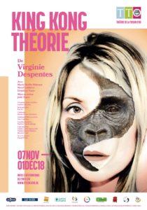 affiche King Kong Theorie de Virginie Despentes par Julie Nayer