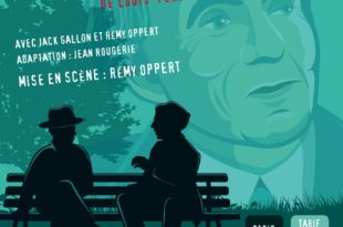 Entretiens avec le Professeur Y de Louis-Ferdinand Céline , mis en scène par Rémy Oppert affiche Théâtre de Nesle pièce de théâtre