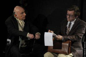 Entretiens avec le Professeur Y de Louis-Ferdinand Céline , mis en scène par Rémy Oppert image pièce de théâtre