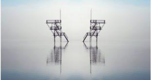 Exposition photo Plongeoir en série de Cloé Martelet Affiche atelier-galerie Bouillon d'arts Clairvaux les lacs