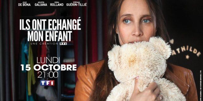 Ils ont échangé mon enfant d'Agnès Obadia affiche téléfilm