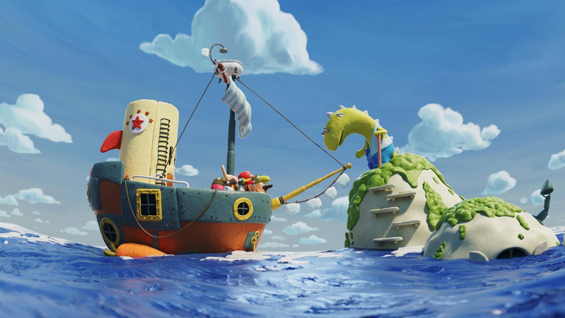 La Grande aventure de Non-Non de Mathieu Auvray image film d'animation