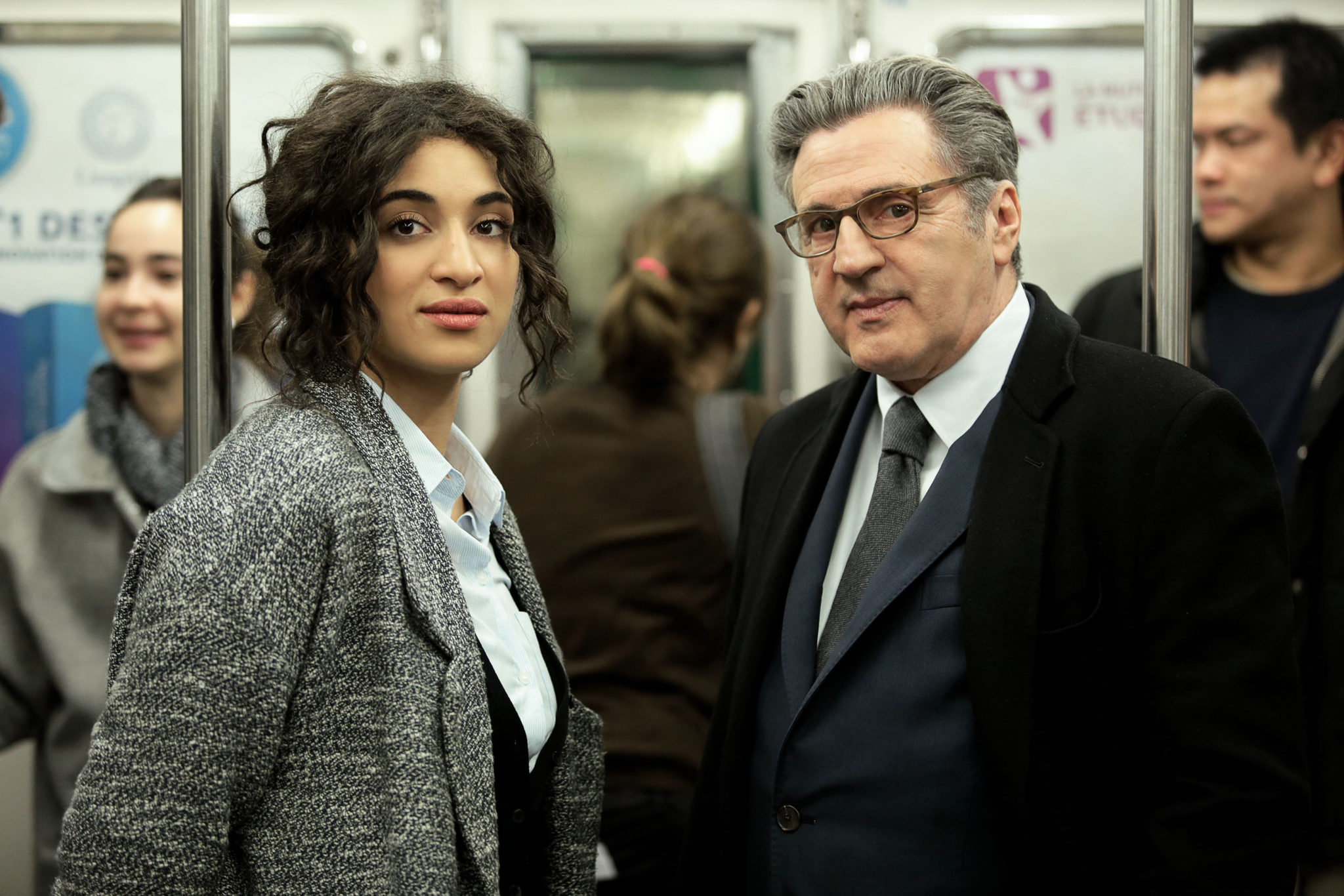 LE BRIO d'Yvan Attal image film Camélia Jordana, Daniel Auteuil