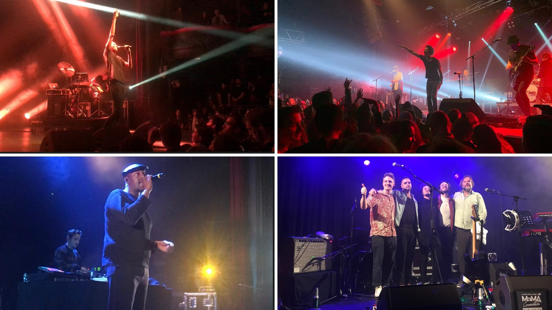 MaMA Festival 2018 images concerts Gaël Faye, Eagle Eye Cherry, Oxmo Puccino, Mamas Gun musique lives